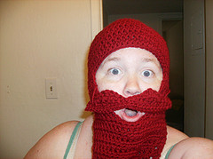 Crocheted Beard