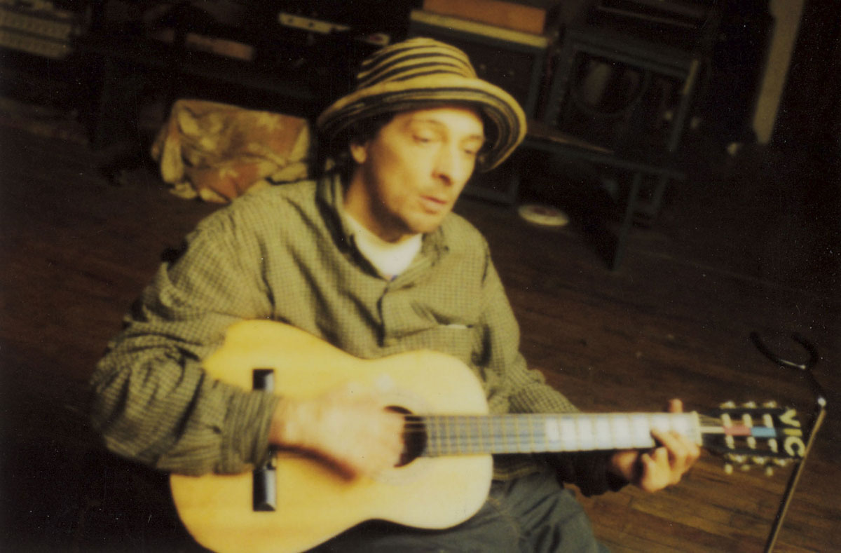 Vic Chesnutt, photo by Jem Cohen