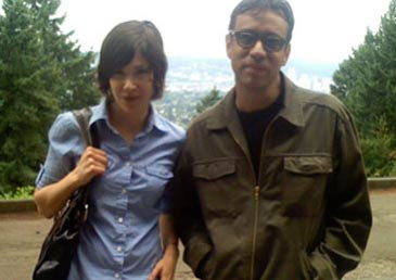 Portlandia stars Carrie Brownstein and Fred Armisen
