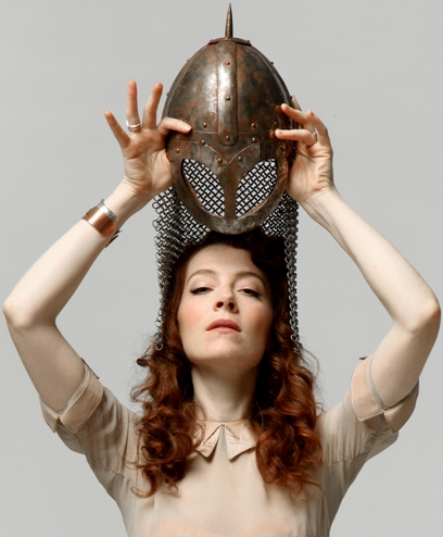 Melissa Auf Der Maur, photo by George Fok