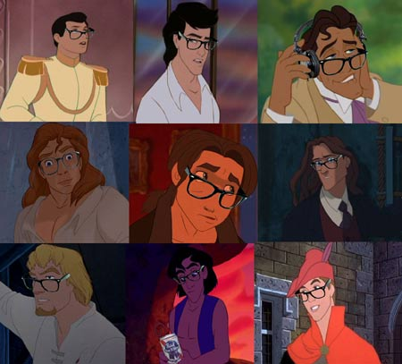 Disney Hipsters Collect The Whole Set