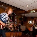 Ty Segall on a boat