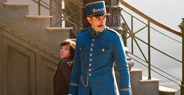 "Sacha Baron Cohen and Asa Butterfield in ""Hugo"""