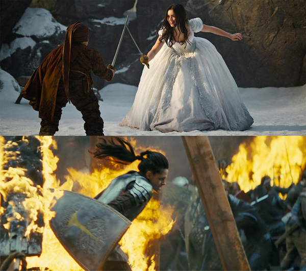 warrior snowwhite Snow White Movie Face Off! Top Three Epic Fails