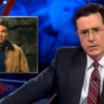 Video: Stephen Colbert (and Gay Santas) Respond to Rick Perry