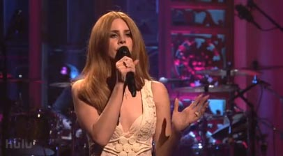 Watch Lana Del Rey On Snl