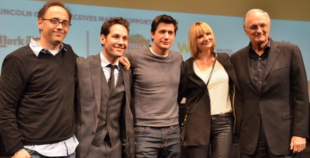 David Wain, Paul Rudd, Ken Marino, Kerri Kenney, and Alan Alda
