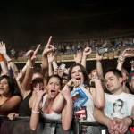 Steve Aoki fans at The Paramount