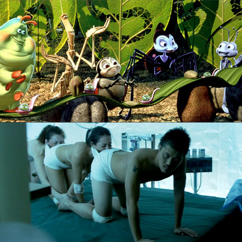 Insect Politics A Bug S Life And The Human Centipede