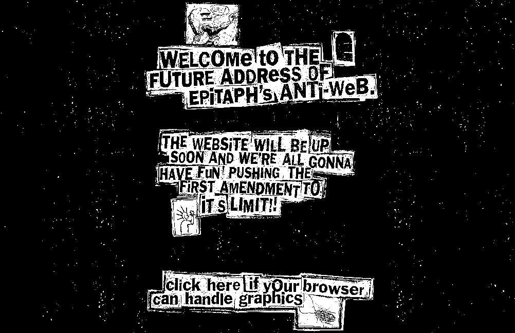 Epitaph Records, December 1996
