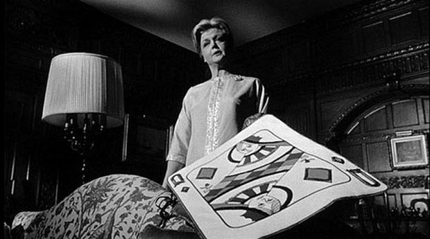 Angela Lansbury as Eleanor Shaw in The Manchurian Candidate