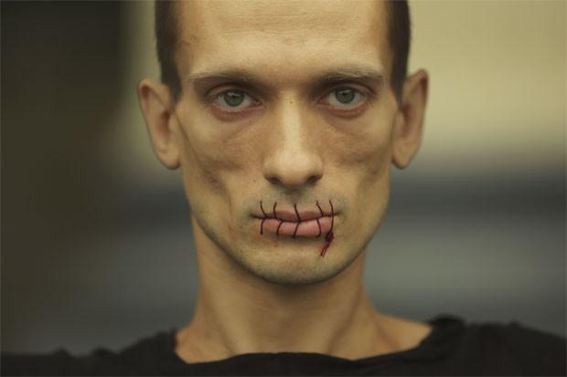 Russian artist Pyotr Pavlensky