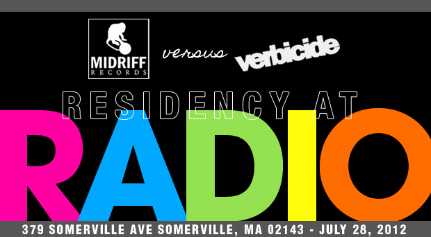 Midriff and Verbicide show at Radio, 7/28/12