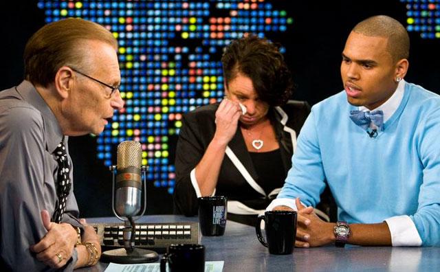 Chris Brown on Larry King