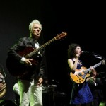 Photo Gallery: David Byrne and St. Vincent at Williamsburg Park, Brooklyn, New York 9/29/12