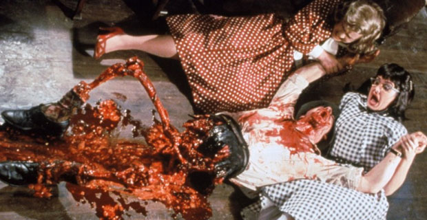 "Scene from ""Dead Alive"""