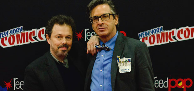 Curtis Armstrong and Robert Carradine, photo by Matthew Schuchman