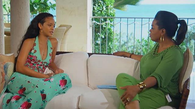 """Rihanna on """"Oprah's Next Chapter"""""""
