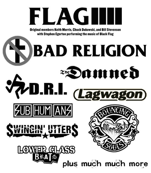 2013 Punk Rock Bowling and Music Festival headliners
