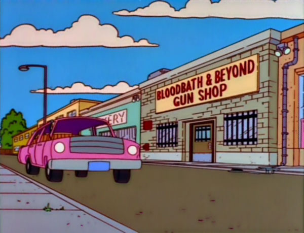 "Bloodbath & Beyond Gun Shop (From ""The Cartridge Family,"" season 9)"