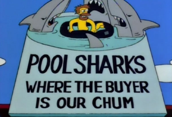 "Pool Sharks (From ""Bart of Darkness,"" season 6)"
