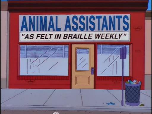 "Animal Assistants (From ""Girly Edition,"" season 9)"