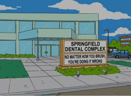 "Springfield Dental Complex (From ""You Kent Always Say What You Want,"" season 18)"