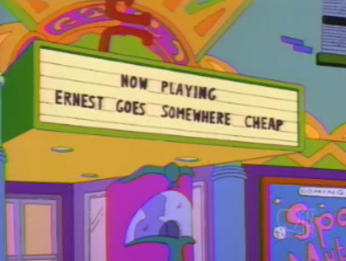 100 Funny Signs From Around Springfield On The Simpsons