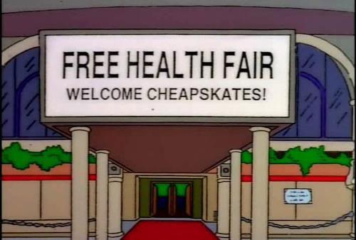 """Free Health Fair (From """"Bart Star,"""" season 9)"""