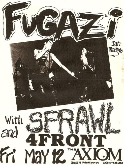 Fugazi, 1989