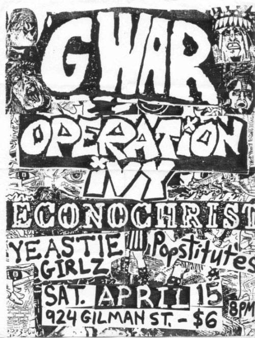 Gwar, Operation Ivy, 1986