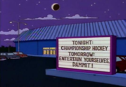 "Championship Hockey (From ""Lisa On Ice,"" season 6)"