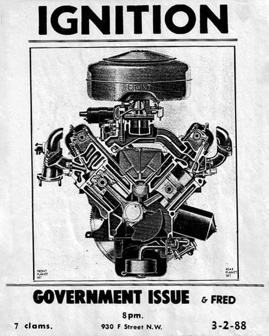 Ignition, Government Issue, 1988
