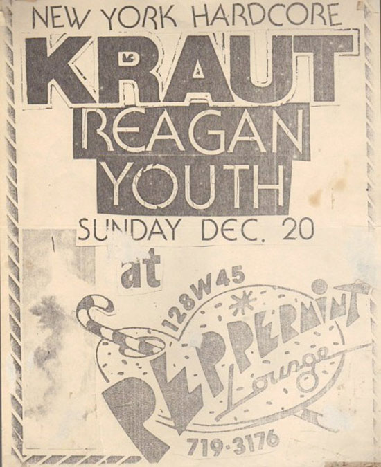 Kraut, Reagan Youth, 1981
