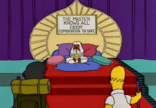 "Master Knows All (From ""Homer and Apu,"" season 5)"