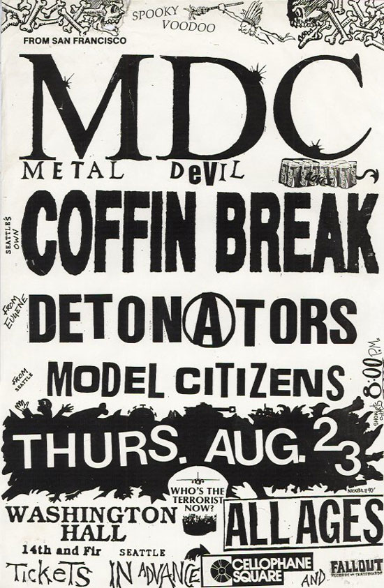 MDC, Coffin Break, 1990