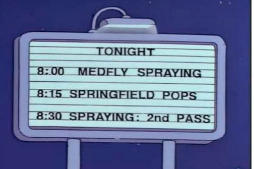 "Medfly Spraying (From ""The Springfield Connection,"" season 6)"