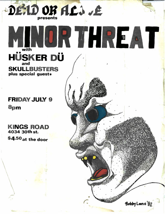 Minor Threat, Husker Du, 1982