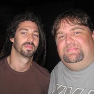 Shadows Fall's Brian Fair (right) and Pat Egan