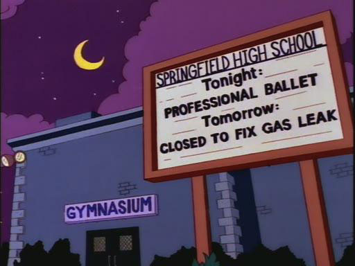 "Professional Ballet (From ""Marge on the Lam,"" season 5)"