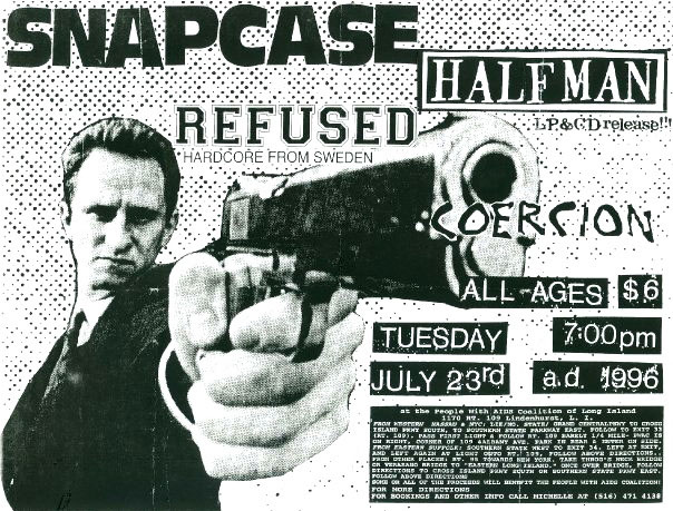 Snapcase, Refused, 1996