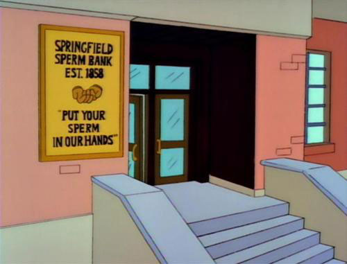 "Springfield Sperm Bank (From ""Selma's Choice,"" season 4)"