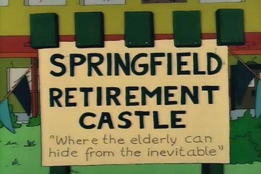 "Springfield Retirement Castle (From ""Old Money,"" season 2)"