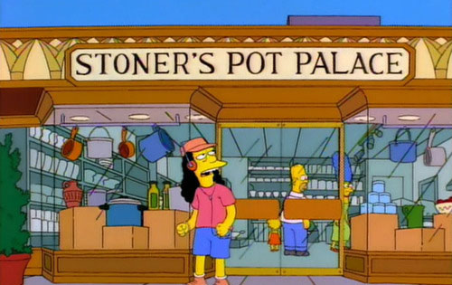 "Stoner's Pot Palace (From ""A Milhouse Divided,"" season 8)"