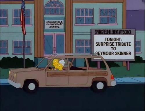 "Surprise Tribute to Seymour Skinner Surprise Tribute to Skinner (From ""The Principal and the Pauper,"" season 9)"