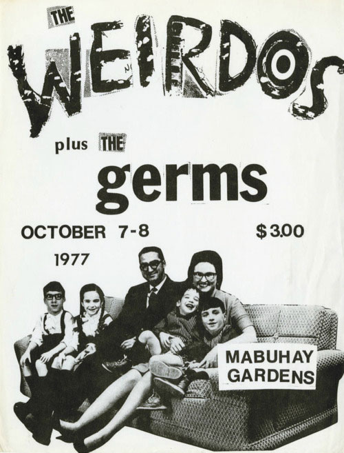 Weirdos and The Germs, 1977