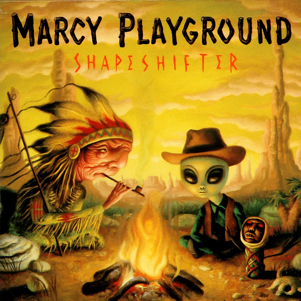 Album art for Shapeshifter by Marcy Playground