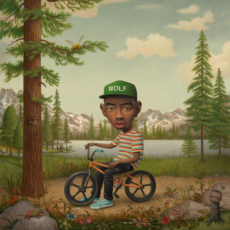 Album art for Wolf by Tyler, The Creator