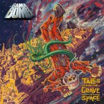 Gama Bomb - Tales from the Grave in Space: I like crazy music, but I'm not big on thrash. But these guys approached me with this great story about two Italian brothers, ham radio operators, tracking Soviet manned launches that went awry, and some poor cosmonaut just kept going. So Philly, singer from Gama Bomb, came up with the story that the cosmonaut made it to the Grave of Space. It looks like some interstellar all-species cemetery. They wanted the feeling of old EC Comics, pre-Code, and I couldn't resist. I really enjoyed doing the zero-gee architecture - sort of an homage to Moebius, although I never really thought about it that way before. Looking at it just now is what made me think about it.