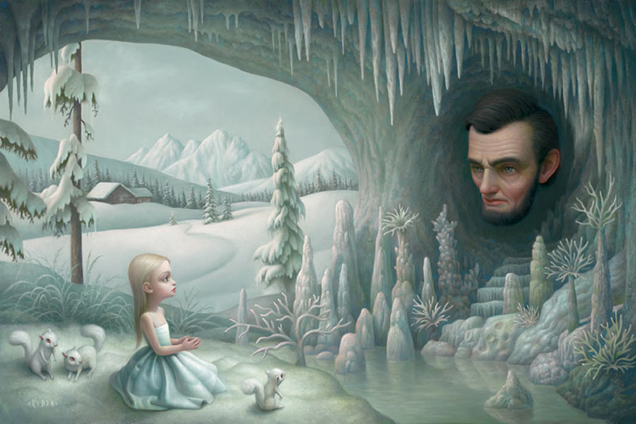Grotto of the Old Mass by Mark Ryden